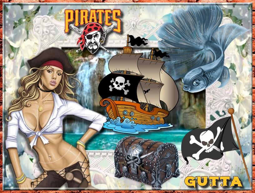 Voilà pour ma seconde Mutti le défi Pirate ,