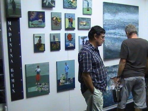 Biennale du marché d'art contemporain du Marin