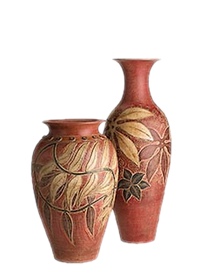 tubes vases / poteries
