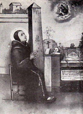 Bienheureux Balthasar  Ravaschieri , prêtre franciscain († 1492)