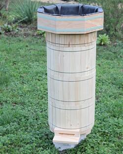 la ruche warré ronde