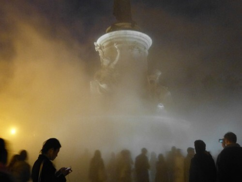 Nuit blanche 13 Fujiko Nakaya brouillard 6
