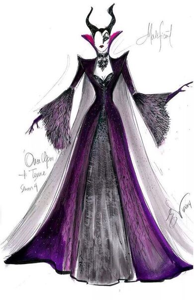 Eduardo Castro's designs of Maleficent: