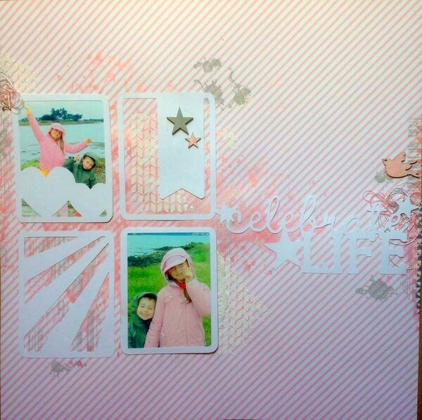 Une page toute en Custom and Craft