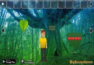 Jouer à Big Valentine heart forest escape