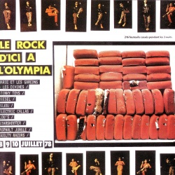 VARIOUS ARTISTS - Le Rock D'Ici A L'Olympia