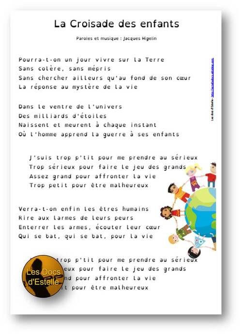 La Croisade des enfants - Jacques Higelin