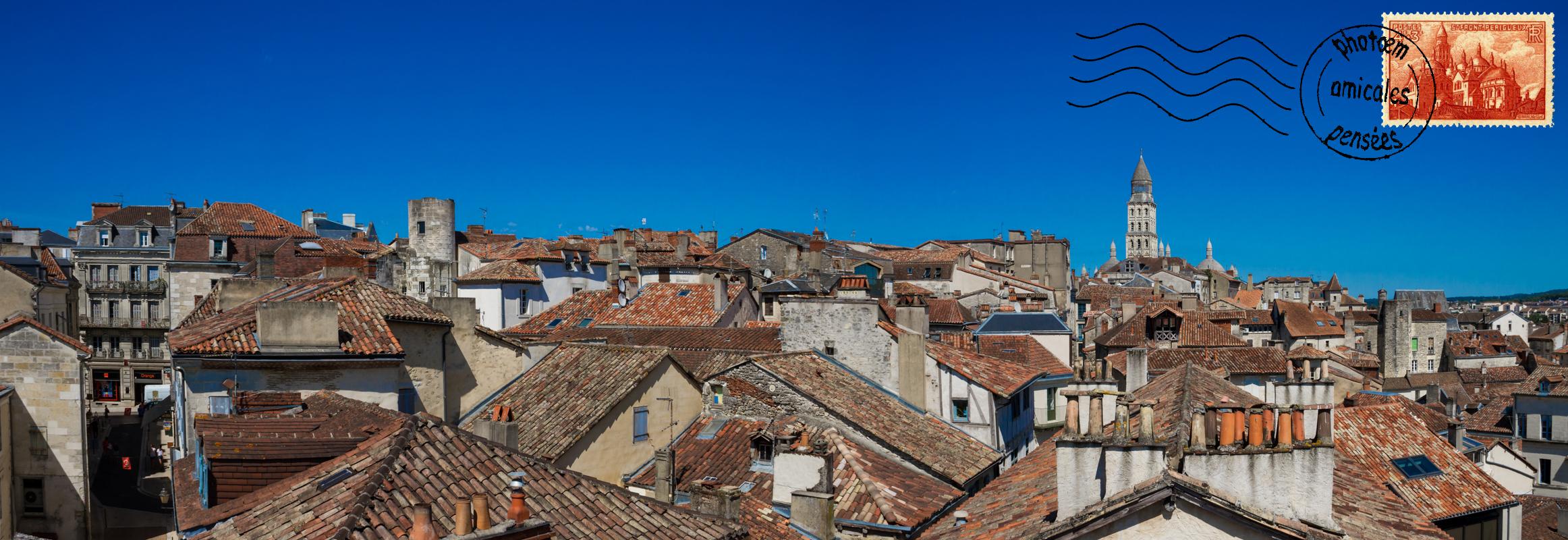 Les toits de Périgueux, 2016.
