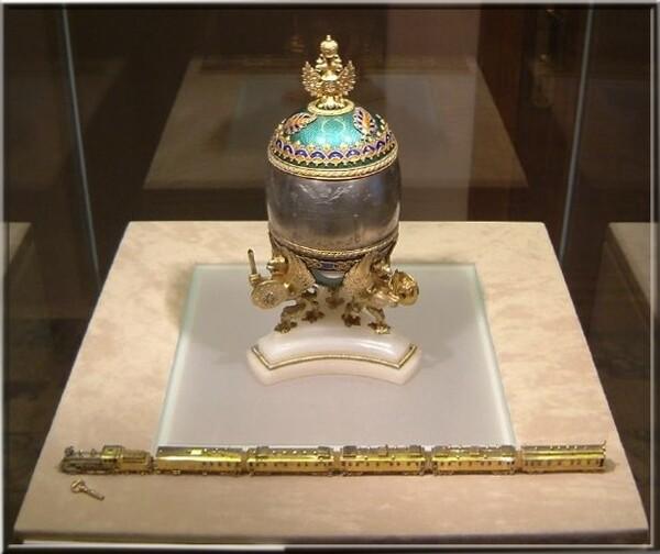 Pierre-Karl Fabergé l'Oeuf au Transsibérien