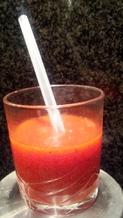 ° soupe de fraises IG bas