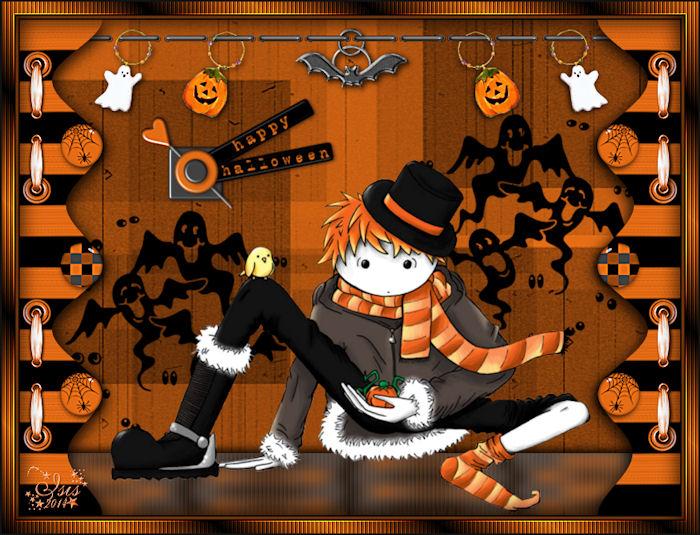 Sylvie : Halloween Scrap