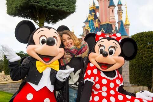 La troupe de Violetta à Disney Land Paris !