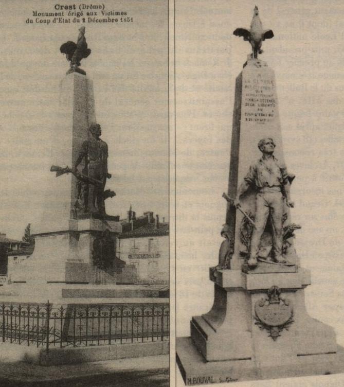 Cartes postales anciennes du monument.