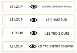 """PS/MS /Exploitation pédagogique album """"Le plus malin"""" / JEU DE LECTURE 2"""