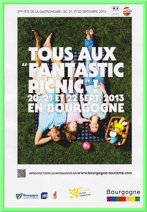 """""""Fantastic Picnic"""" une joyeuse animation proposée par l'Office du Tourisme du Pays Châtillonnais"""