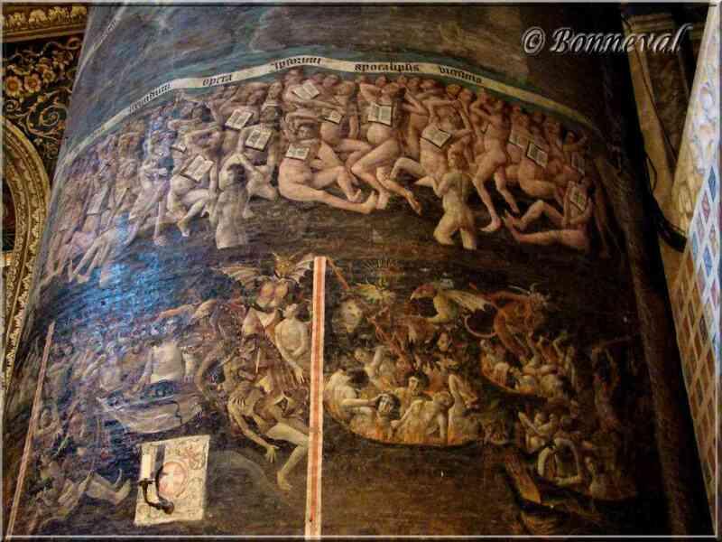 Cathédrale Sainte-Cécile d'Albi Jugement Dernier l'Enfer