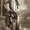 Cheyenne man, Bird Wild Hog; also known as Hedge Hog 1890. Photo by Christian Barthelmess.