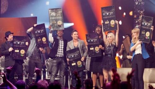 L'album Star Académie 2012 : Disque d'or en quelques jours!