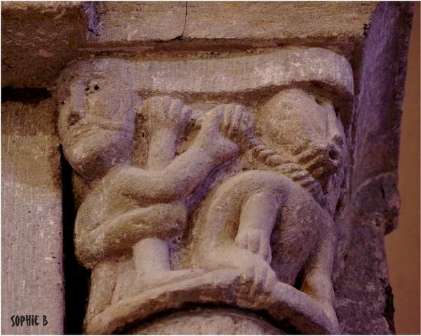 Quelques chapiteaux romans en Basse Auvergne - 4
