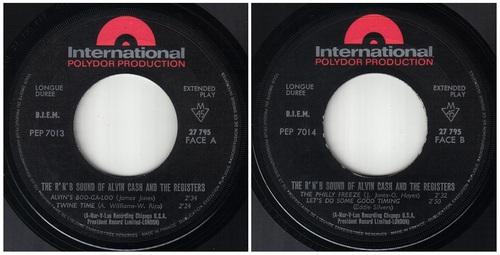 ALVIN CASH - EP FRANCAIS POLYDOR 27 795 -1966