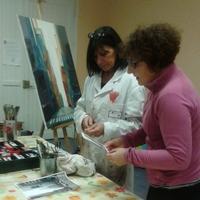 Atelier Peinture avec Odile Coolen
