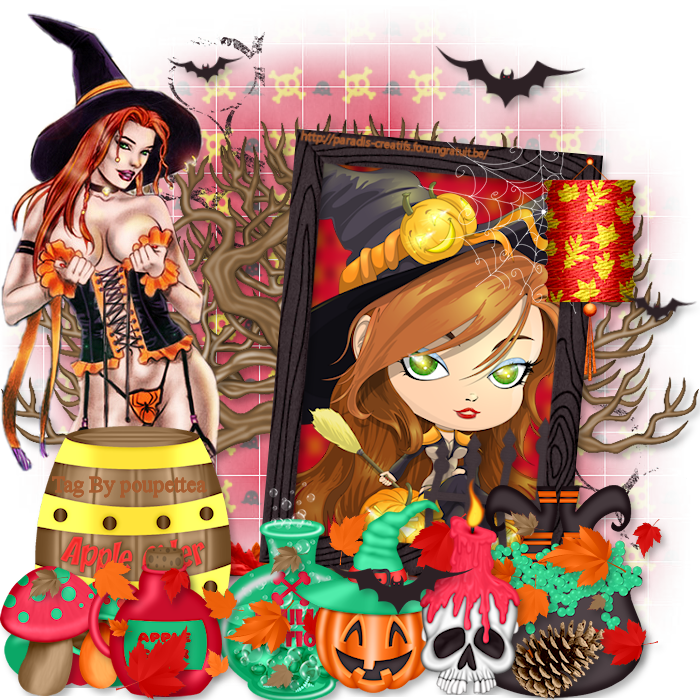 Fall-O-Ween Witch