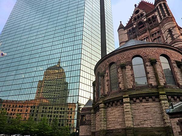 Boston Back Bay Trinity church