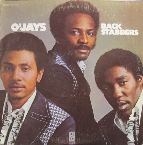 "1972 : The O'Jays : Album "" Back Stabbers "" Philadelphia International Records KZ 31712 [ US ]"
