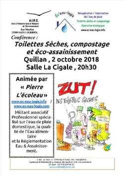 Toilettes sèches, compostage, éco-assainissement