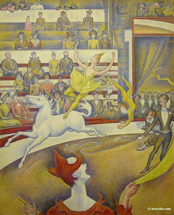 Le cirque, Seurat