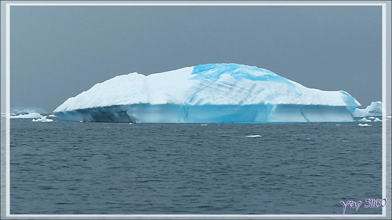 Une dernière merveille observée dans le cimetière d'icebergs de Savissivik - Qaasuitsup - Baie de Melville - Groenland