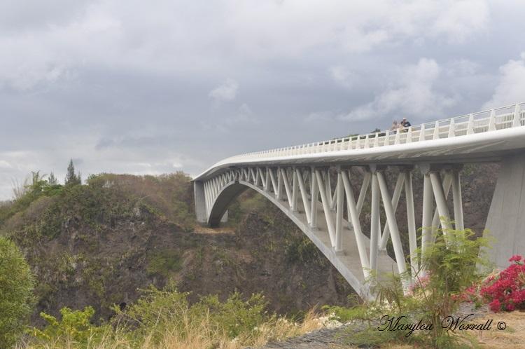 La Réunion : Pont du Bras de La Plaine