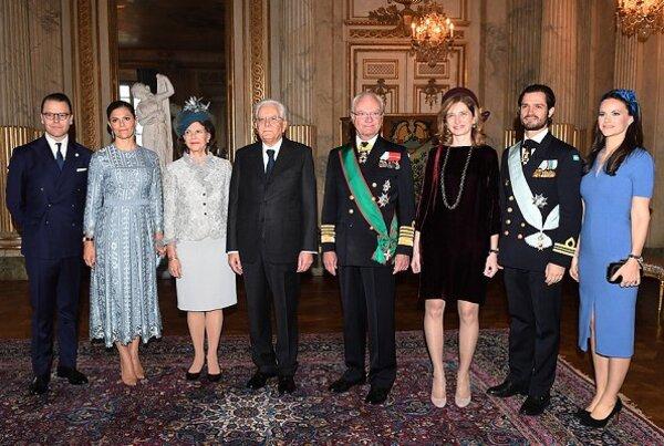 Visite présidentielle italienne en Suède - 1