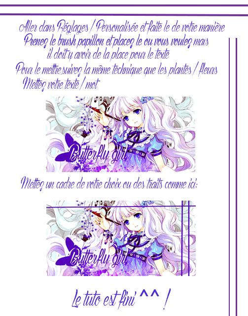 Butterfly girl Tutorial (Demandé par Daisy De Sarasaland