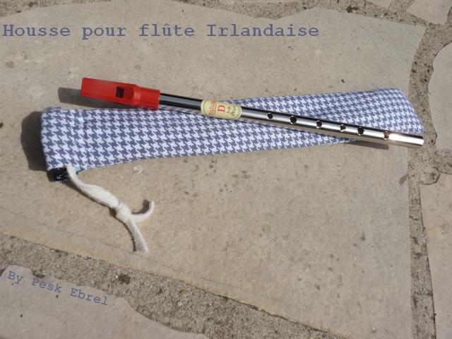 Pochette pour une flûte irlandaise