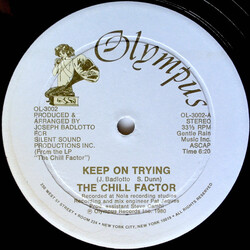 The Chill Factor - Keep On Trying