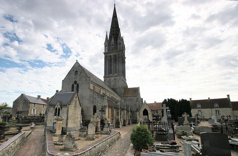 Langrune sur mer : église saint Martin
