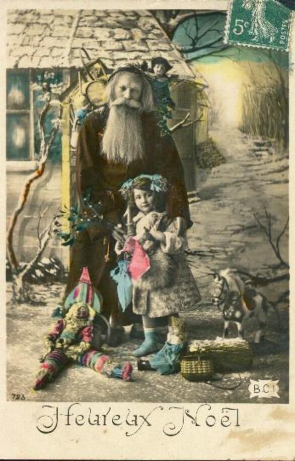 anciennes cartes de noel