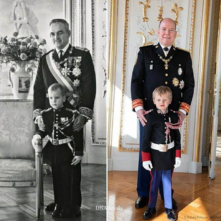 3 générations à Monaco