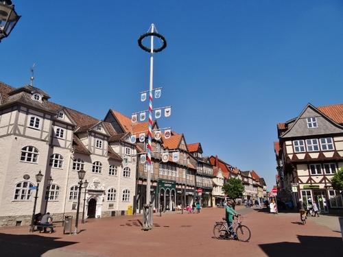 Atour du çateau de Wolfenbüttel en  Allemagne (photos)