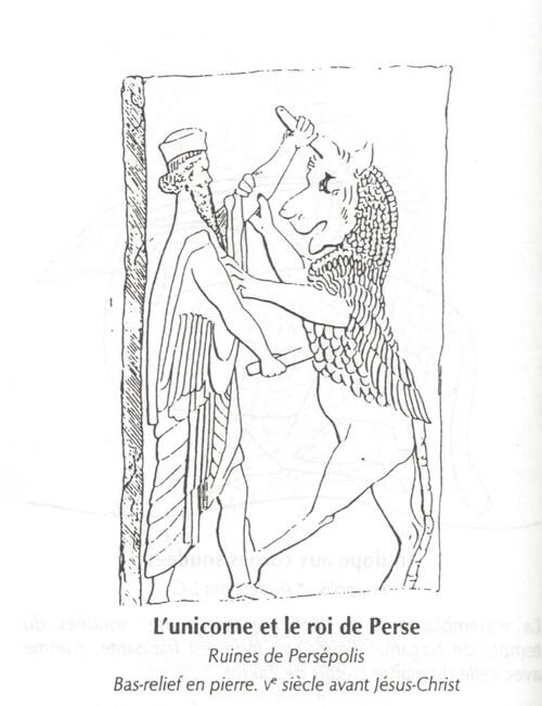 licorne de Persépolis - Caroutch 1997