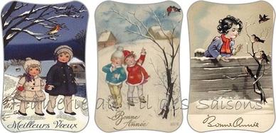Cartonnettes Bonne Année !
