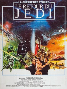 LE RETOUR DU JEDI BOX OFFICE FRANCE 1983