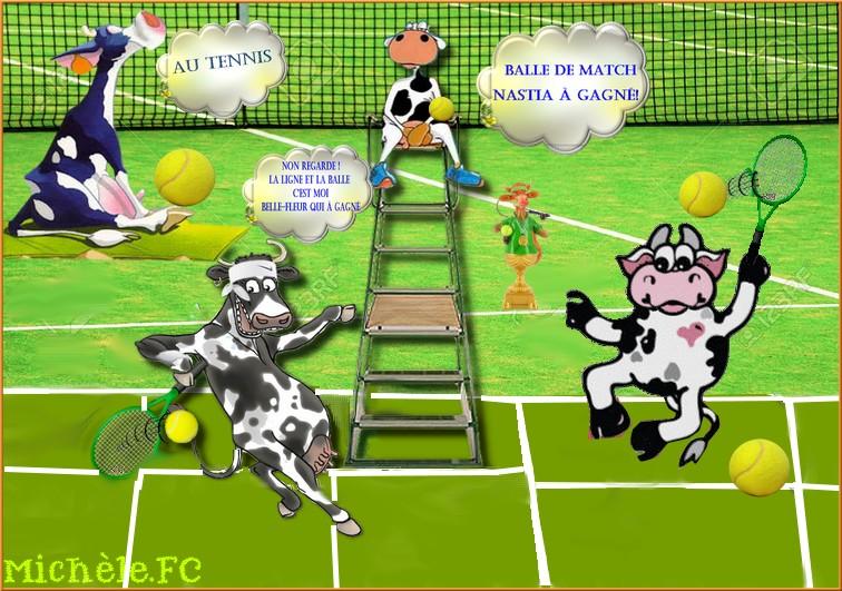 Le Tennis chez Babouchka
