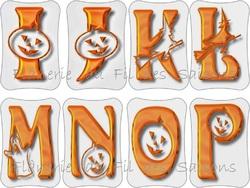 Cartonnettes Abécédaire Halloween !