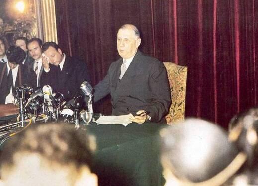 De Gaulle conferense du 19 Mai 1958