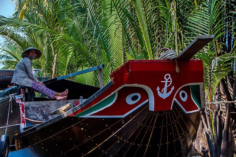 Petit bras dans le Delta du Mekong