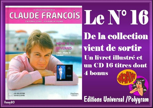 N° 16 DE LA COLLECTION OFFICIELLE