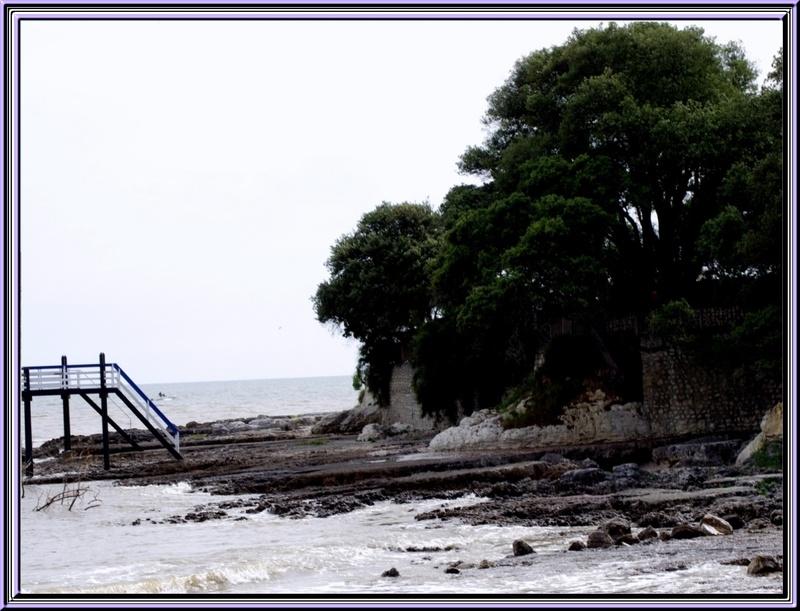 le pont du diable à St Palais sur mer (charente maritime)