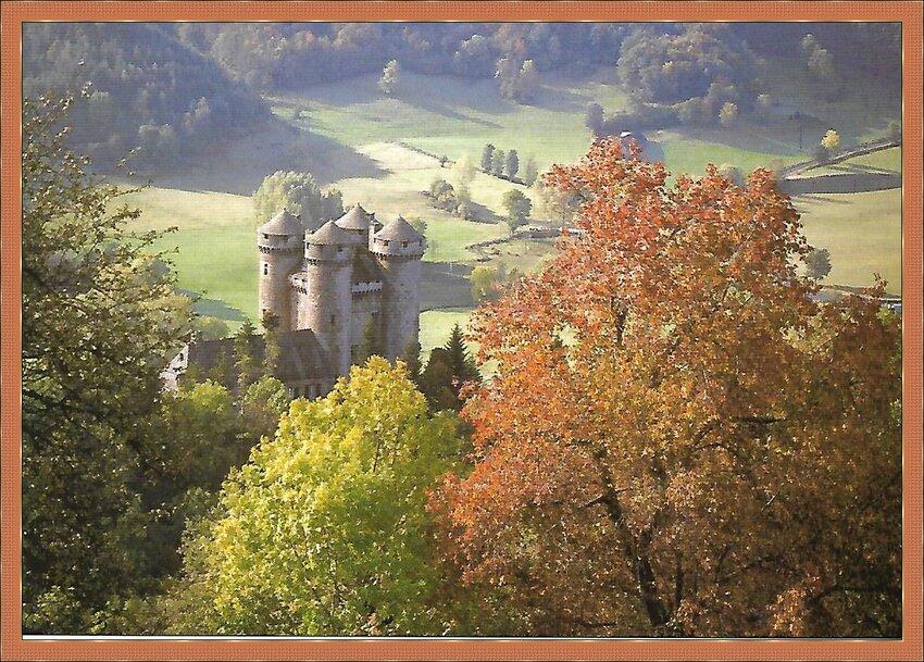 Le Château d'Anjony Cantal